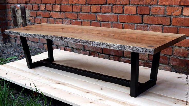 Купить Журнальный стол в Эко стиле - журнальный столик, кофейный столик, лофт, индастриал