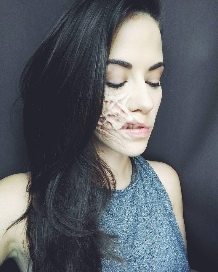 """54 kedvelés, 2 hozzászólás – Nagy Flóra (@makeupartistflora) Instagram-hozzászólása: """"#fx #sfx #prostheticmakeup #scar #scars #makeup #mua #mywork #myface #hungarianmakeupartist…"""""""