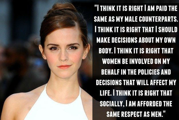 Quotes For Fun Quotation Image As The Quote Says Description On Gender Equality 17 Empowering Emma Watson Quotes Strong Women Quotes Empowerment