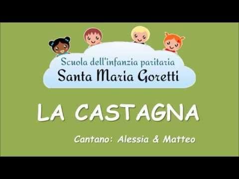 La castagna - canzone per i bambini - YouTube