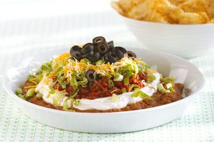 """7 Leia Dip"" (Ultimate 7-Layer Dip Recipe - Kraft Recipes)"