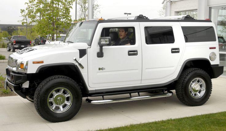 2014 Hummer H2 White