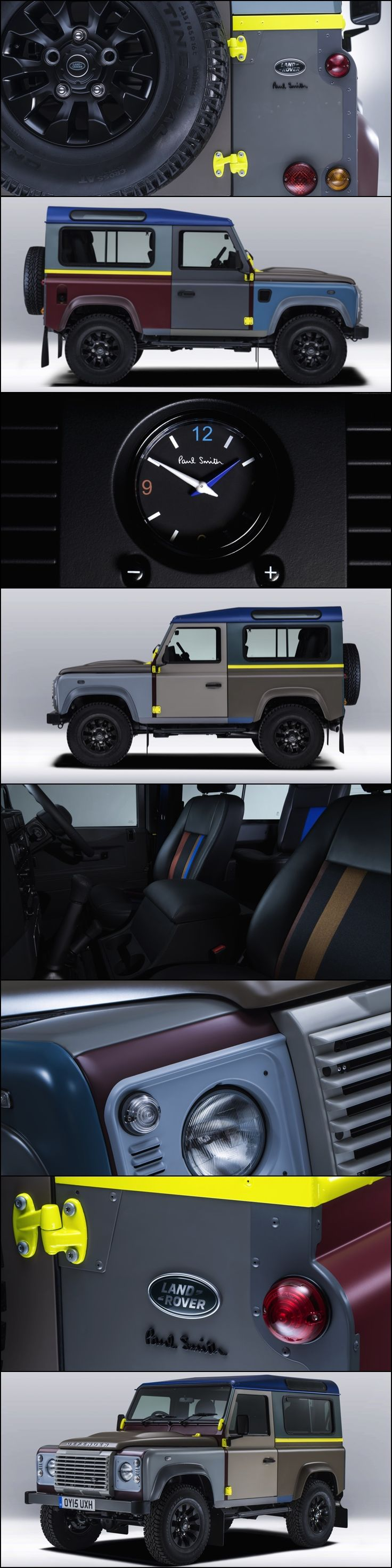 Land Rover Defender By Paul Smith One Off Tailor Made