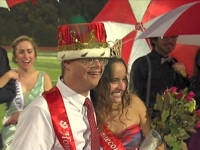 Chad Handorf: Kings High School's homecoming king inspires whole student body - Story