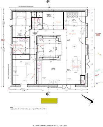 25 best ideas about plan construction maison on pinterest for Plan maison patio