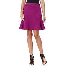Wendy Williams Fit and Flare Ponte Skirt