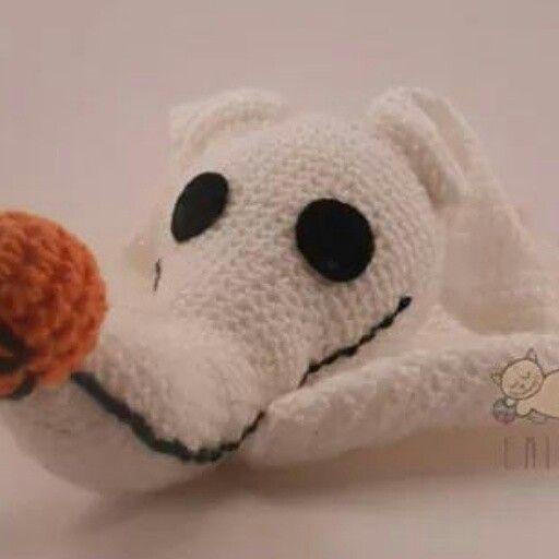 #zero #elextrañomundodejack #halloween #crochet #llavero #hechoamano #knitting #chile #handmade