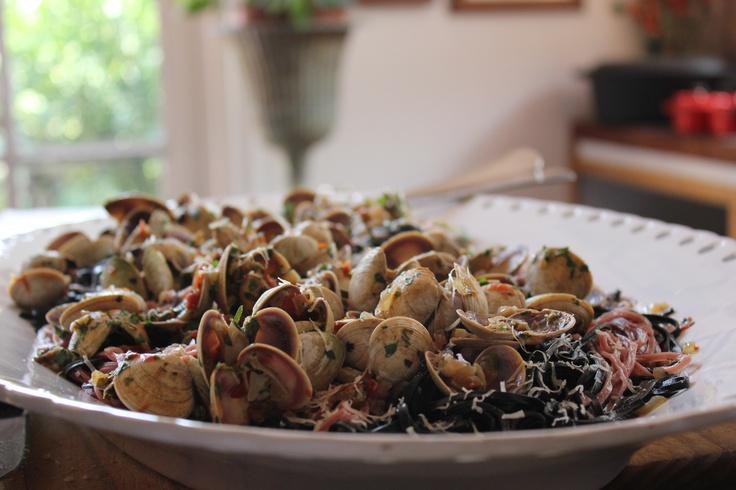 Chef Maria E. Terragno's Seafood Pasta