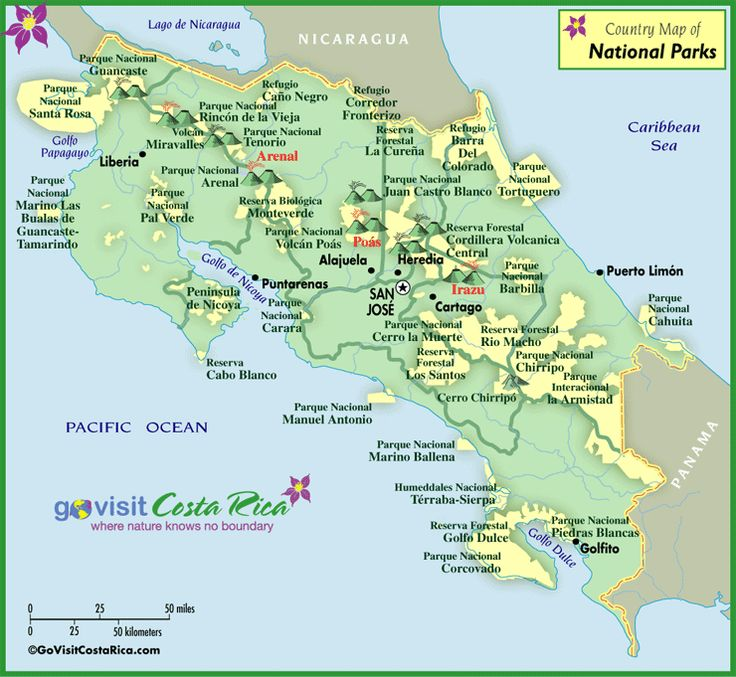 35 best costa rica maps images on pinterest mapas costa rica y costa rica national park map gumiabroncs Images