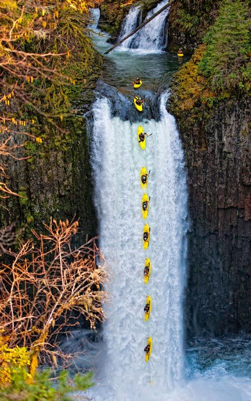 Abiqua Falls  why oh why?!! 101 feet, Cascade Range foothills, Marion Co. OR