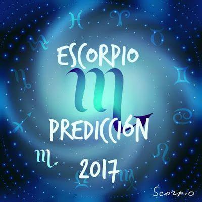 Horóscopo Escorpio 2017