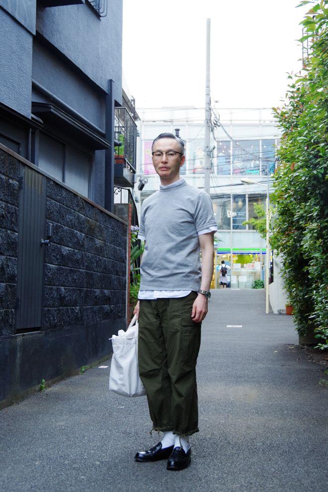 ストリートスナップ原宿 - 松下和正さん | Fashionsnap.com