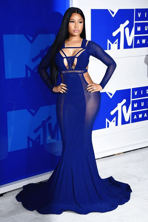 "mcavoys: "" Nicki Minaj attends the 2016 MTV Video Music Awards at Madison Square Garden on August 28, 2016 in New York City. """