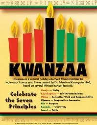 Kwanzaa  http://www.officialkwanzaawebsite.org/index.shtml