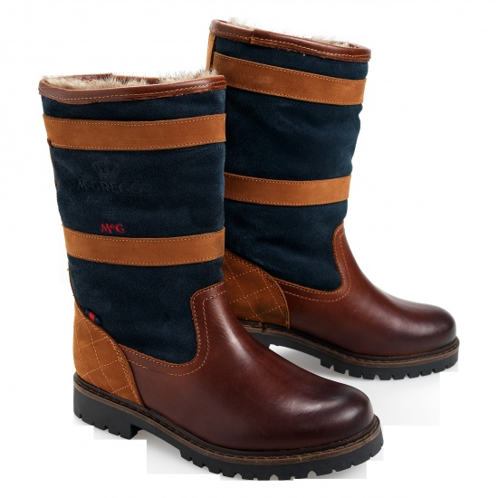 McGregor boots Bold in brown; winter boots for women in a