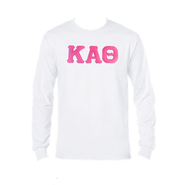 Kappa Alpha Theta... now available! Shop http://manddsororitygifts.com/products/kappa-alpha-theta-unisex-ls-pink-gl?utm_campaign=social_autopilot&utm_source=pin&utm_medium=pin