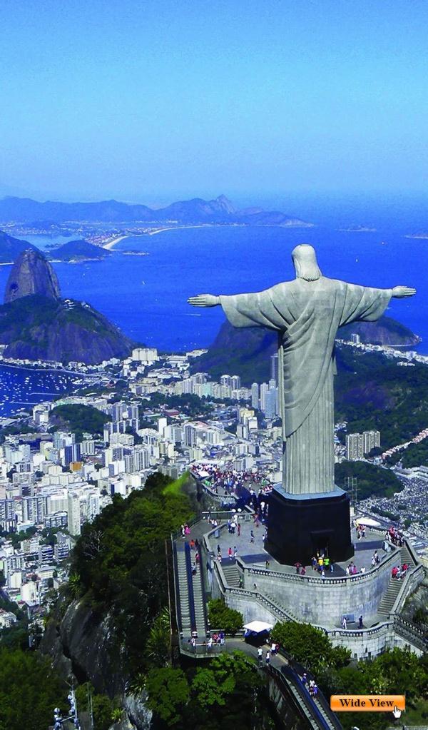 Love the Redeemer Christ. Rio de Janeiro, Brazil