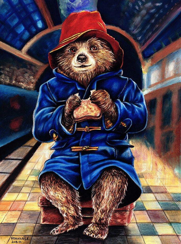 Медведь паддингтон фото