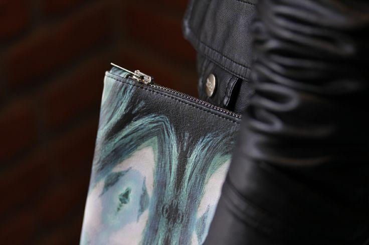 Orange Dream Limited99 small clutch by Redream #bag #clutch #fashion #limited #print #Redream