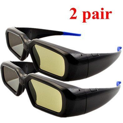 ATC 2x Automatical Wireless Universal Rechargeable 3D Active Shutter Glasses Compatible with Active 3DTVs for LG 42LX6500-CA; 47LX6500-CA; 55LX6500-CA; 55LX9500 by Atc. $68.00. Specifications:Shutters: Liquid CrystalTransmittance: 36%(TYP.)Field Rate: 120HzContrast Ratio: 1000:1Battery: 3.7V LI-CONCharge Time: 2.5 HoursSleep Mode: 180 DaysWork Time: 35 HoursReceiving Distance: 6M(Max.)Receiving Angle: U/D: +-35 degree; L/R: +-55 degreeGlasses Weight: 48gCompatible with the f...