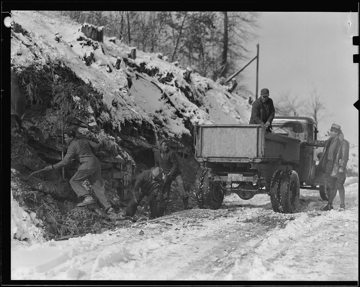 Scott's Run, West Virginia. Unemployed miners, March 1937 | Photographer: Louis Wickes Hines (pinned by haw-creek.com)