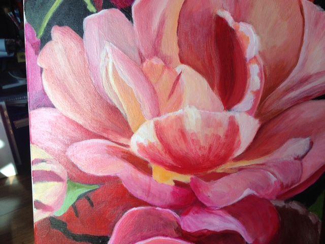 Peach Rose - sold 2015