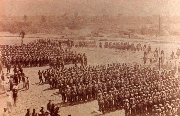 Regimiento 2º de Línea en Lurín 1881