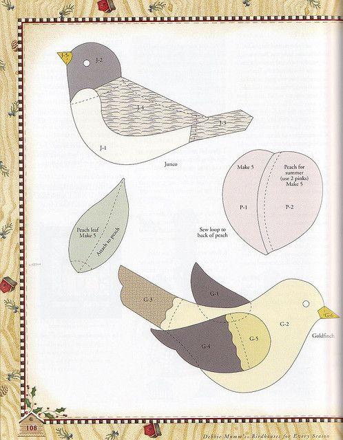 patron pájaros