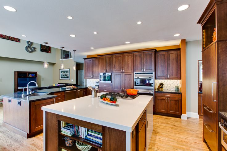 kitchens with wood cabinets 18 best decoraci 243 n cocinas images on 6657