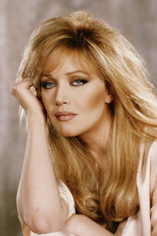"Tanya Roberts as 'Stacey Sutton in ""A View To A Kill"" (1985)"