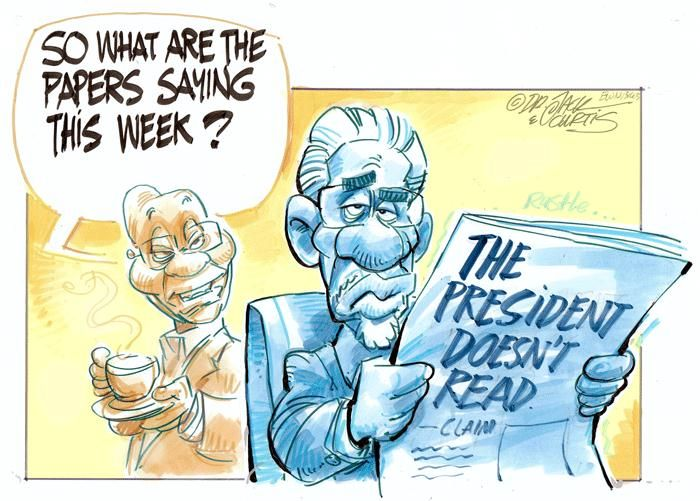 Dr Jack & Curtis on the President's reading habits.