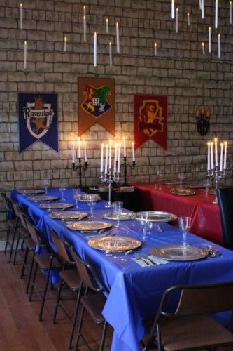 Parenting: you're doing it right. Over-the-top Harry Potter party