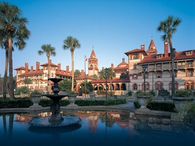 Flagler College- St. Augustine, FL  A beautiful renovated 1930s hotel, can't believe it's actually a college!
