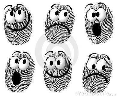 faces: fingerprints