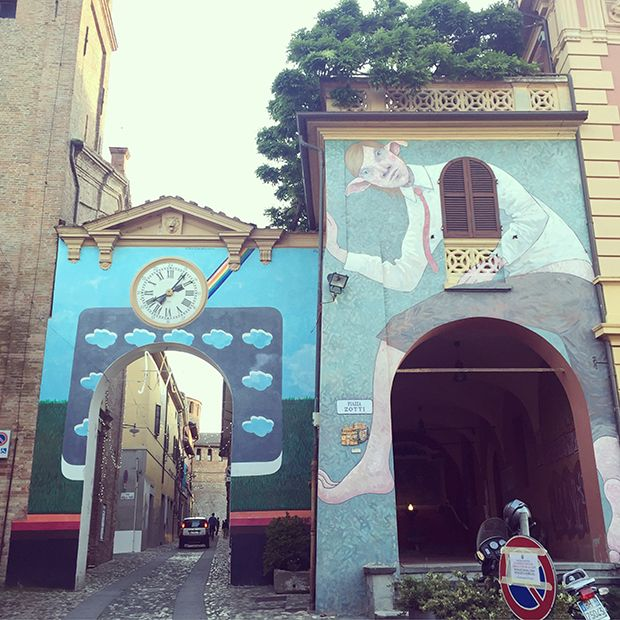 Dozza é listada como uma das mais belas vilas da Itália;