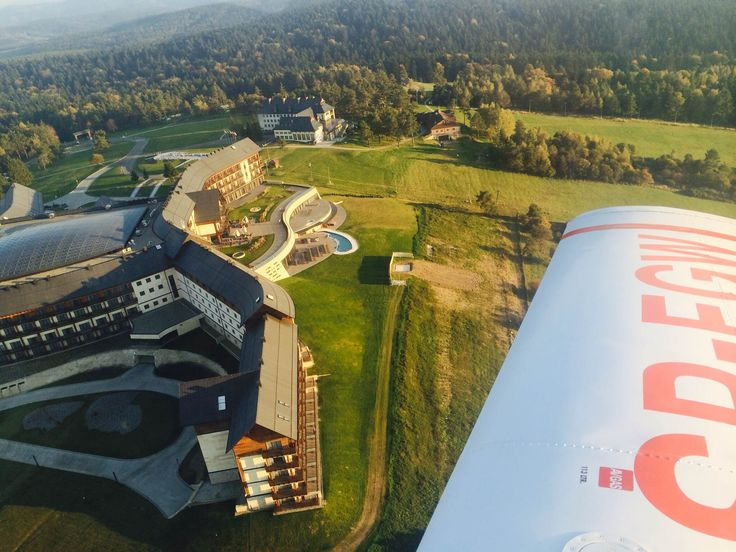 Bieszczady Scenic Flights.   Enjoy Poland's stunning landscapes from the air on a scenic flight. Fly over Bieszczady landscapes and the sparkling blue waters of Solina Lake.  Sky Jet: We live to make the impossible Possible