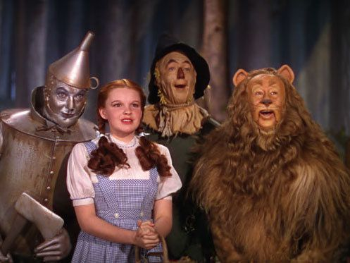 :: The Wizard of Oz :: I'd be brave as a blizzard...  I'd be gentle as a lizard...  I'd be clever as a gizzard...   If the Wizard is a wizard who will serve.   Then I'm sure to get a brain...  A heart...   A home...  The nerve!