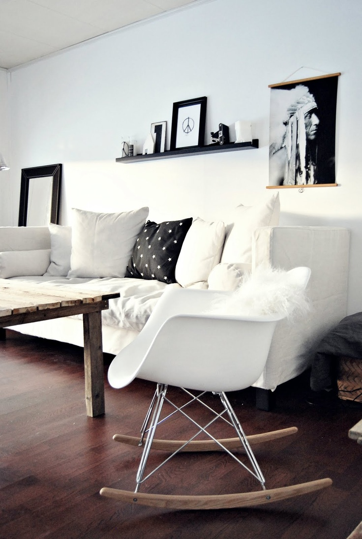 Love the chair. would be great in the bedroom with the Ikea Ludde sheep skin in it.
