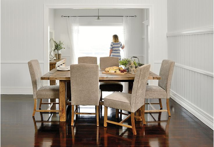 Industrial 7 Piece Dining Suite | Super A-Mart