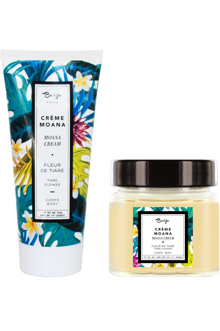 Baïja - Crème Moana – Fleur de Tiaré - Birchbox