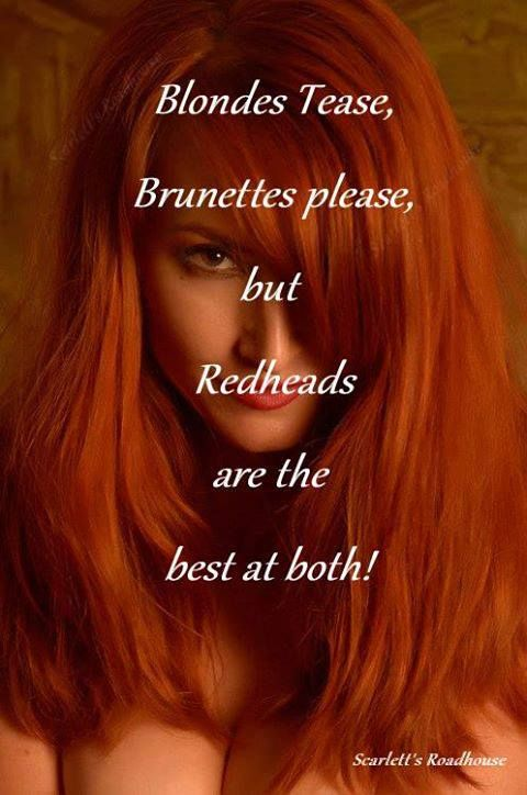 Sexy redhead quotes