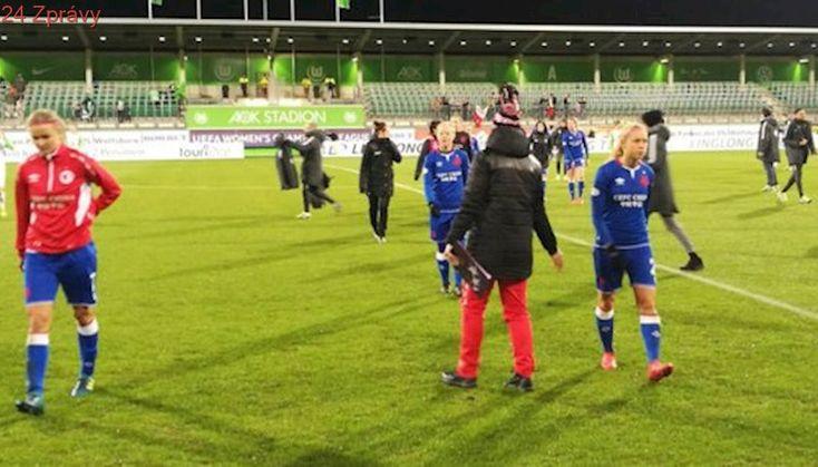 Lekce od šampionek! Slávistky prohrály v Lize mistryň s Wolfsburgem 0:5