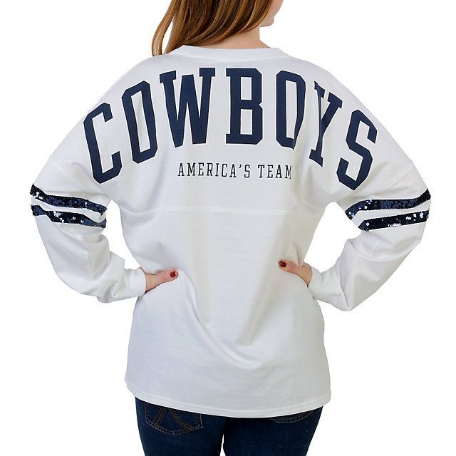 Dallas cowboys sequin jersey Boyfriend Half-Zip - PINK - Victorias Secret  httpswww.fanprint · Dallas Cowboys . 762fdc3c1