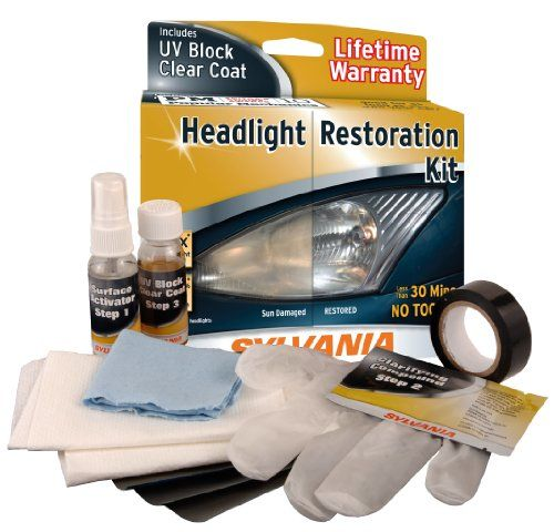 Want to know how to restore headlights? If your headlights are starting to look foggy and old, this headlight restoration DIY can solve that! Clean up those lights, and it MAY just feel like you're driving a brand new car, give it a try...     Headlight Restoration DIY I have to admit