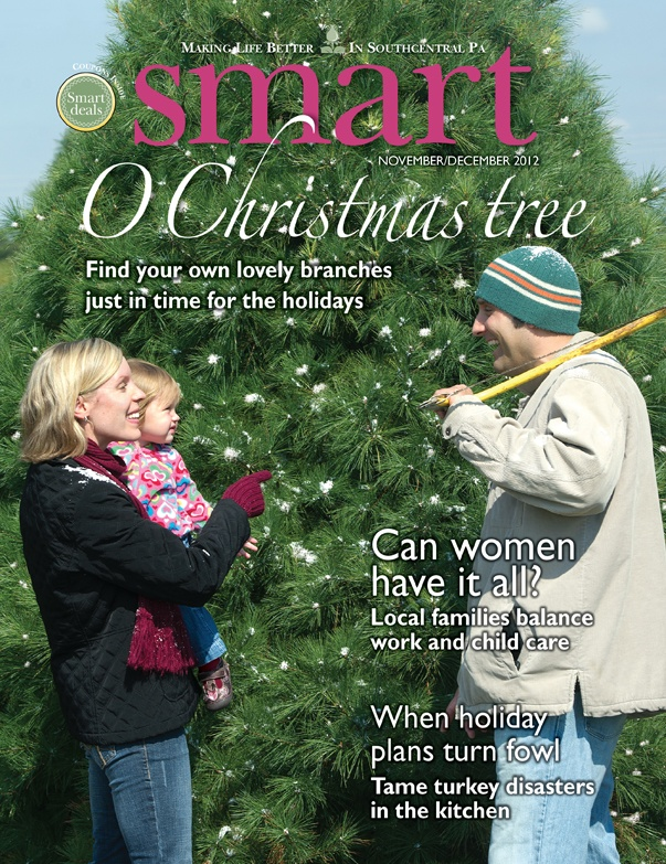 Learn what winter coat to wear for your body shape, how to survive a Thanksgiving disaster, where to find the perfect Christmas tree and how to make a latke in the November/December 2012 issue of Smart. http://www.yorkblog.com/smart/smart-novemberdecember-2012/