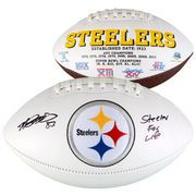 """Heath Miller Pittsburgh Steelers Fanatics Authentic Autographed White Panel Football with """"Steeler 4 Life"""" Inscription"""