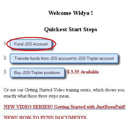 Deposit to JSS-Tripler via Libertyreserve