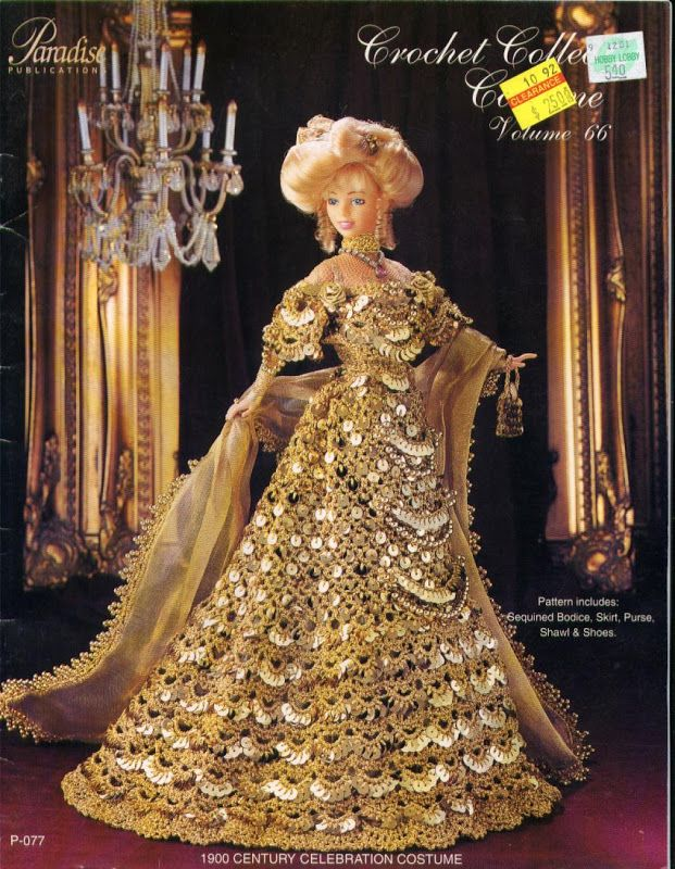Barbie, Crochet Collector Costume Vol. 66
