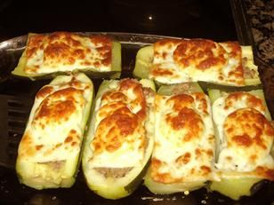 """Talking about zucchini. These are """"zapallitos rellenos""""!"""