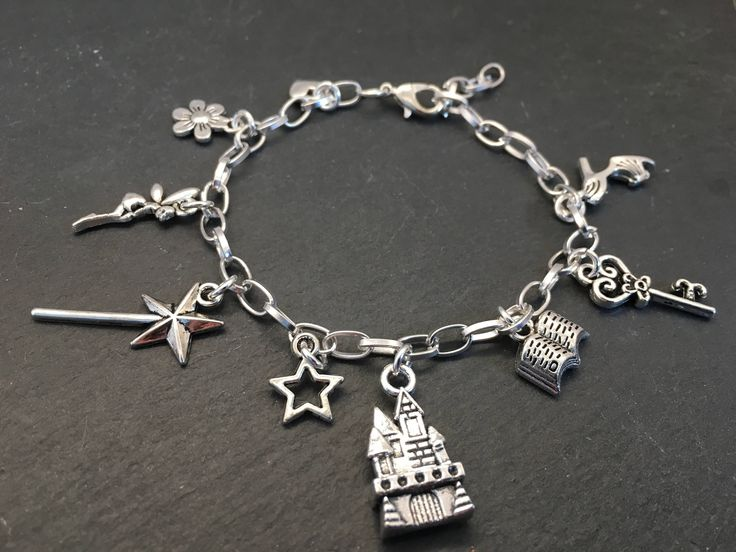 A personal favourite from my Etsy shop https://www.etsy.com/uk/listing/528831083/fairytale-charm-bracelet-girls-charm